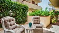 Patio with automated shades - Ficarazzi ApartmentImage