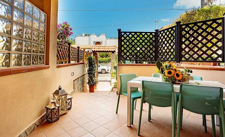 Ingresso con patio - Casa vacanze Ficarazzi