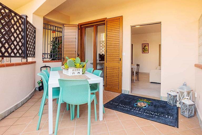 Patio - Ficarazzi Apartment