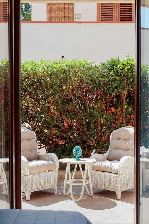 Vista del secondo patio di Gessuminu