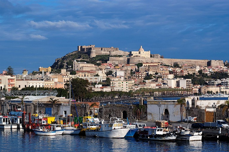 Castle and the old village - Milazzo, Sicily